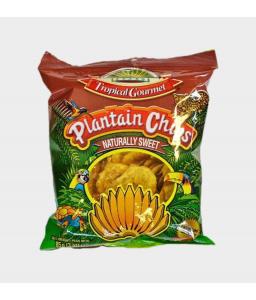 Chips Plaintain tropical gourmet Sucré 85g
