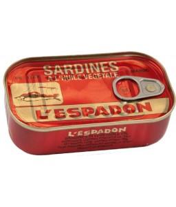 L'Espadon sardine chilli sauce 125g